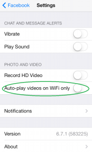 Auto-Play videos on WiFi only